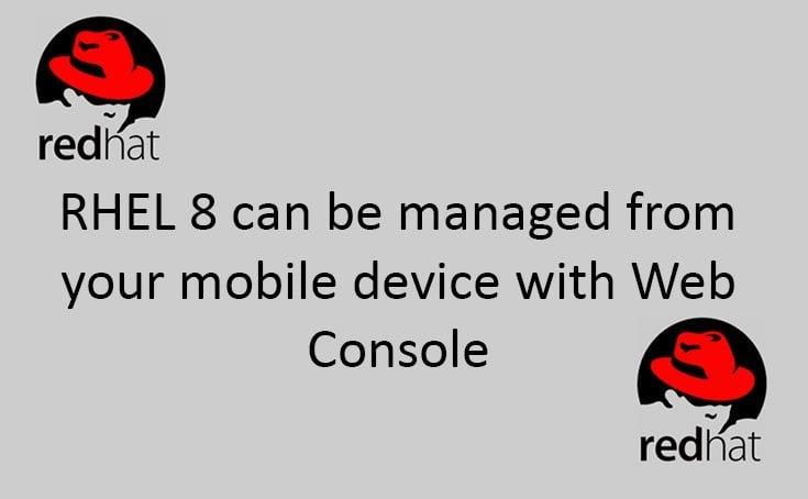 RHEL 8 on mobile console