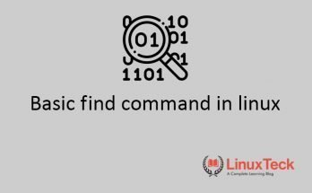 find command in linux