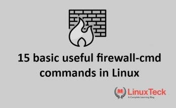 firewalld in linux