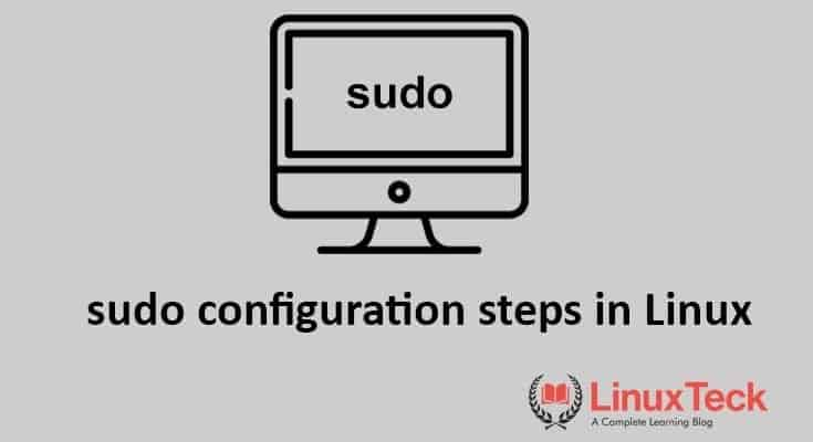 what is sudo command in linux