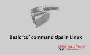 How to use cd command in Linux