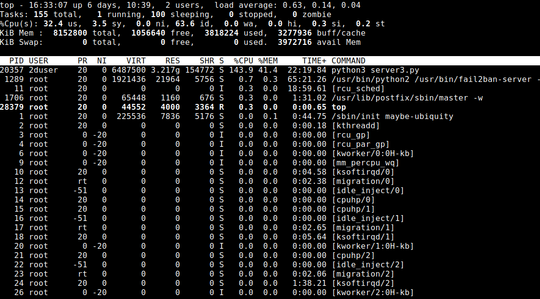 13 Top command in Linux (Monitor Linux Server Processes) 1
